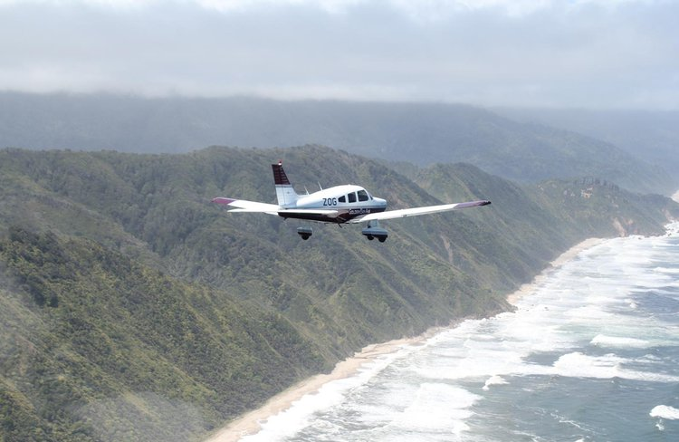 Flying the coastline between Golden Bay - Takaka and Karamea we service both ends of the Heaphy Track.