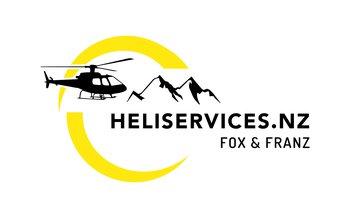 Heliservices.NZ Fox & Franz   Logo