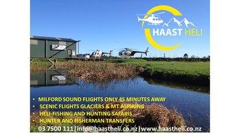 Heliservices NZ- Haast   Logo