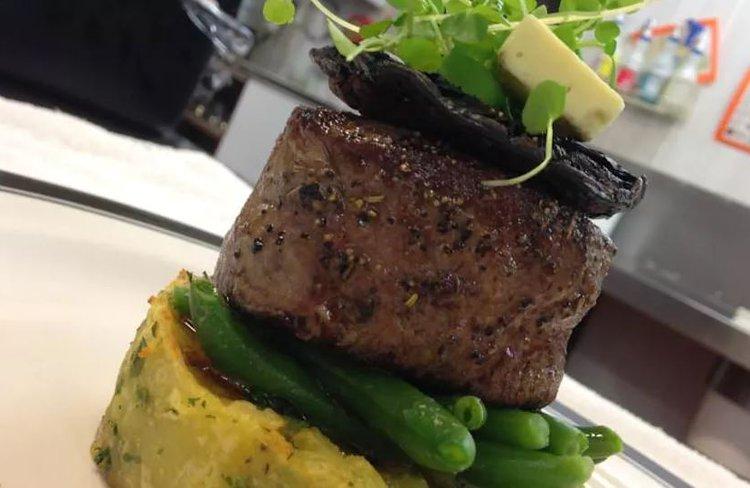 Ashley Hotel Greymouth food