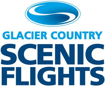 Glacier country scenic flights logo