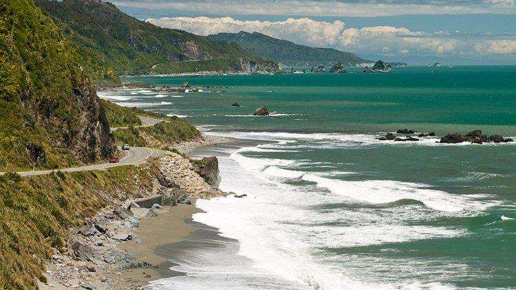 Great Coast Road, West Coast, New Zealand
