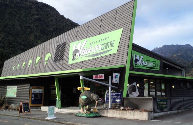 West Coast Wildlife Centre front