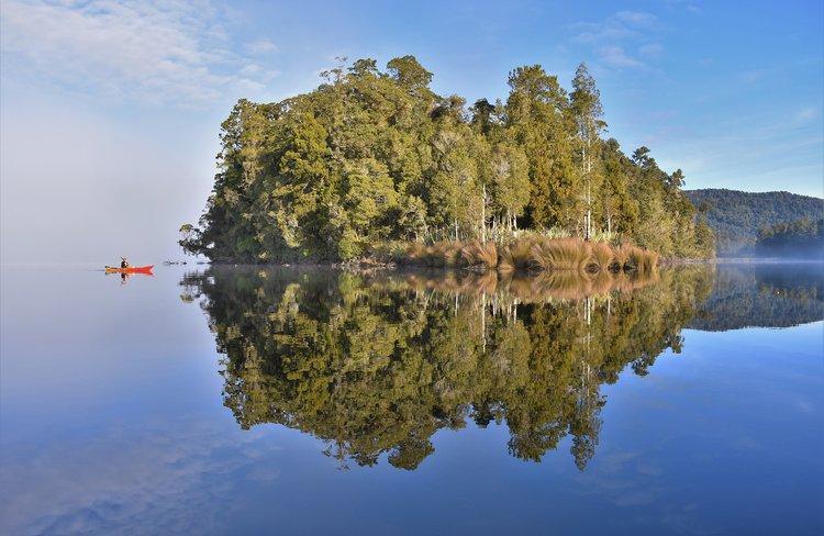 Franz Josef Wilderness Tours - Lake Mapourika.jpg