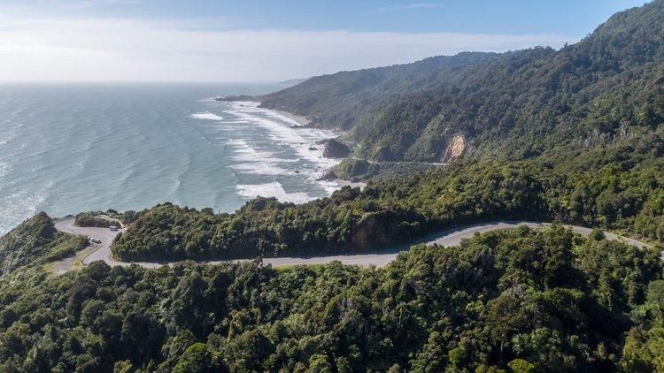 Great Coast Road New Zealand