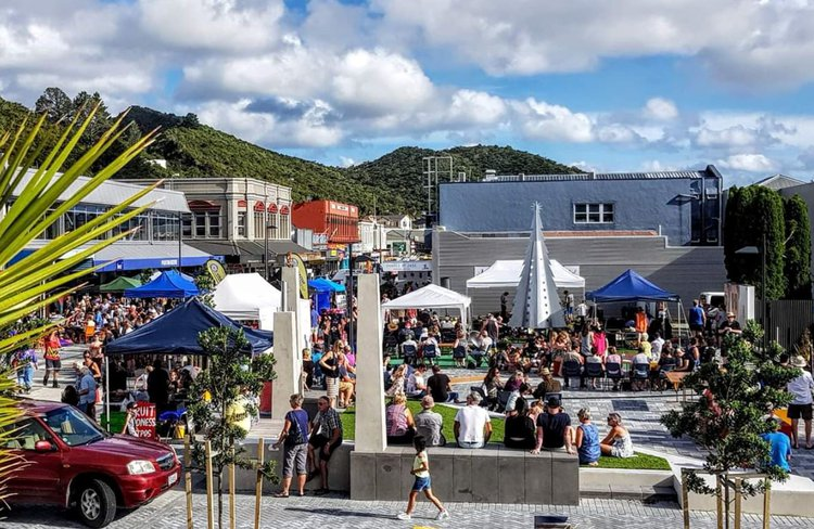 Greymouth Town Square.JPG