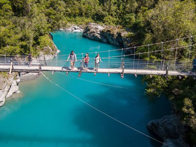 Hokitika Gorge West Coast New Zealand - 0065