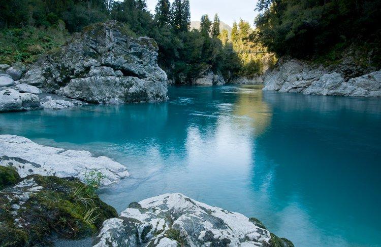 Blue Pools, Hokitika