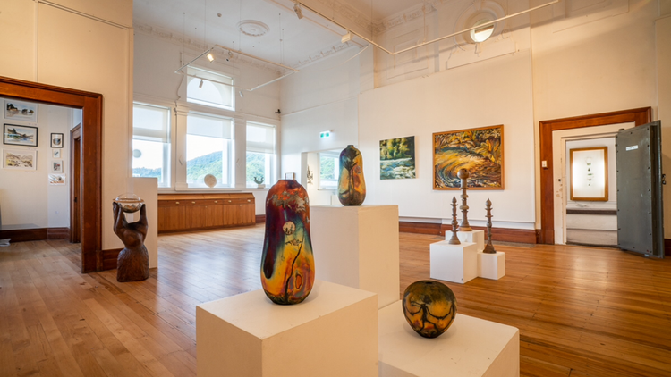 Left Bank Art Gallery, Greymouth, LBAG 02.PNG