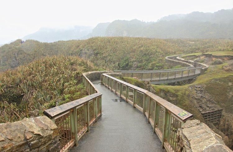 Punakaiki walking path