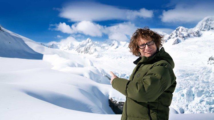 Te Radar above Fox Glacier - cropped