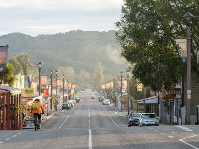 Reefton mountain biking - 3987