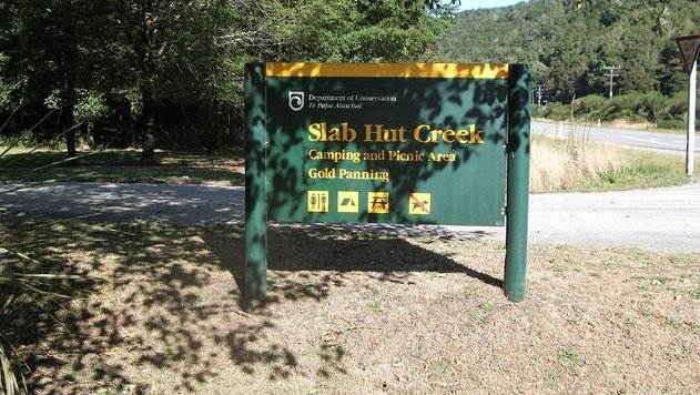 Slab Hut Creek Campsite