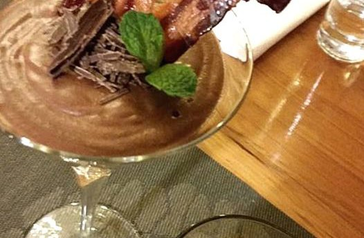 Stella chocolate mousse with candied bacon.jpg