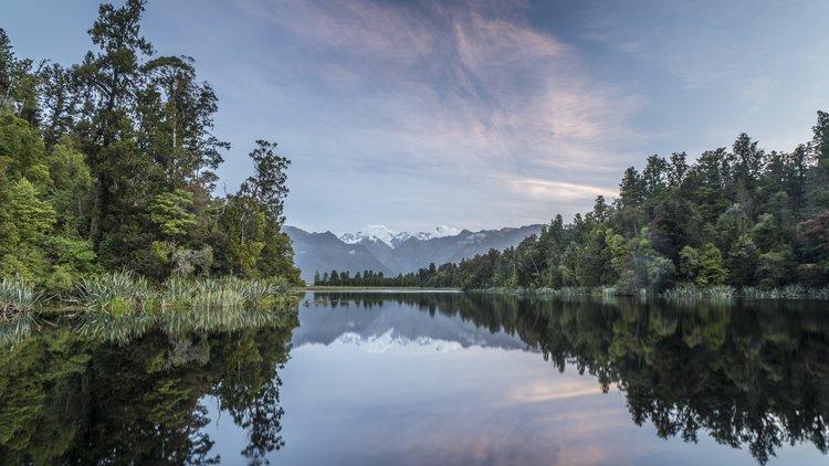 Lake Matheson, Glacier Country - 2778
