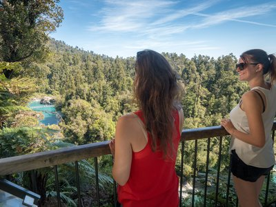 Overlooking Hokitika Gorge