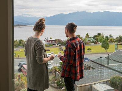 Views from Lake Brunner Hotel - TWC LB-5138