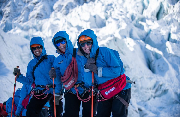 Guests often label their Glacier Heli Hike as the highlight of their visit to Aotearoa (New Zealand).
