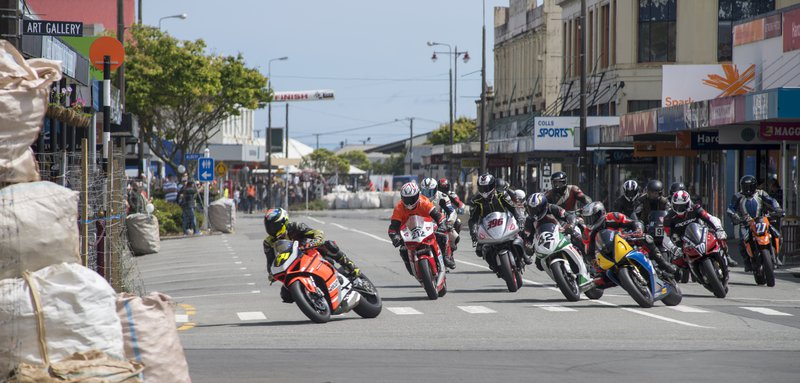 Greymouth Street Races