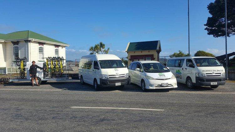 Wilderness Trail Shuttle vans