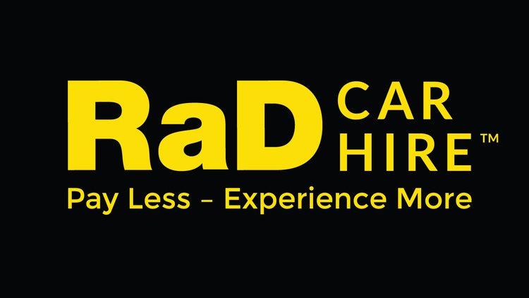 RaD Car Hire logo