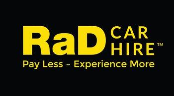 RaD Car Hire Greymouth | Logo