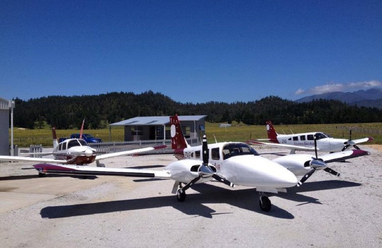 Golden Bay Air - aircraft fleet, ready and waiting to take you where you need to go.