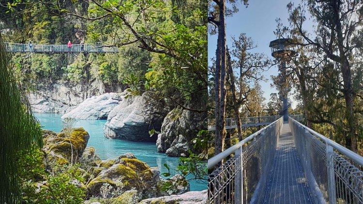 Hokitika Gorge & West Coast Treetop Walkway Tour
