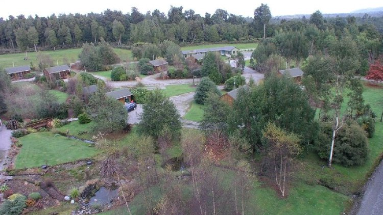 Overview of grounds - aerial image