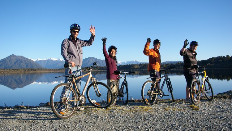 Stunning scenery, easy riding and comfortable bikes make this cycle trail experience achievable for most people