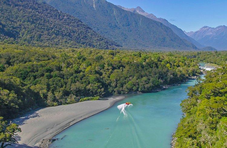 Waiatoto River, Haast UNESCO World Heritage Area, South Island, New Zealand