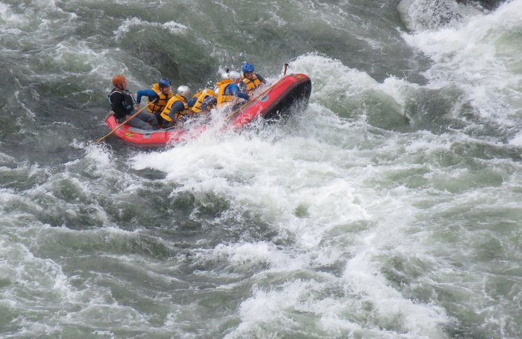 Rafting the Earthquake Section