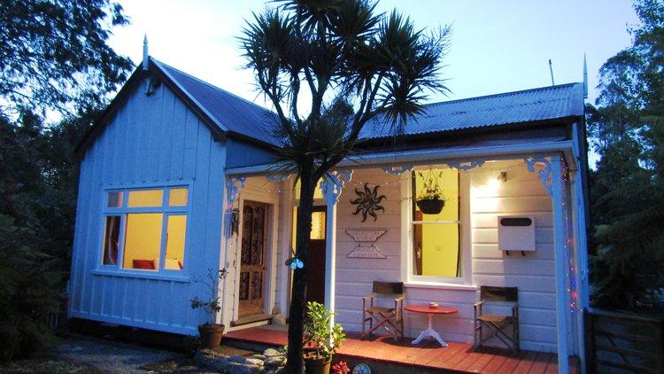 Cozy Villa with evening glow
