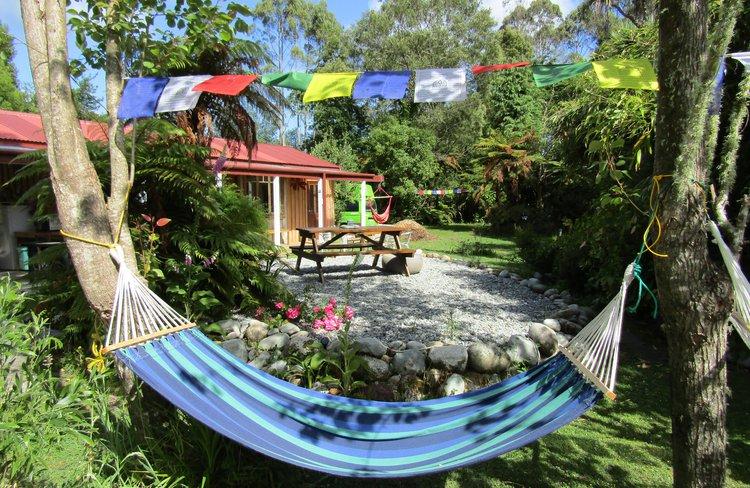 Relaxing garden spaces