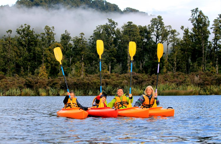 Kayak pristine rainforest lakes and discover a world unchanged since before human arrival.