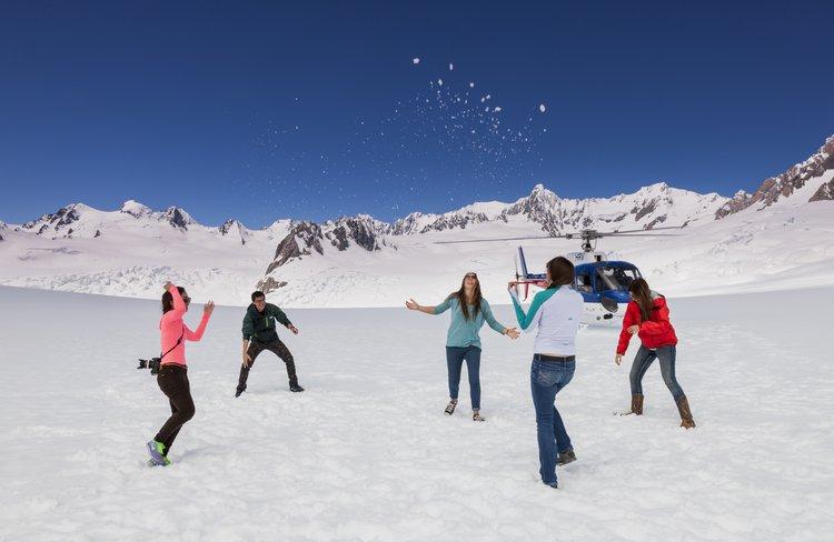 Enjoy a snowball fight year round