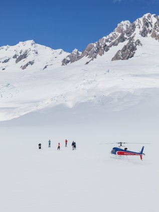 Experience the serenity on the remote high alpine landing
