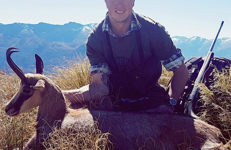 Chamois hunting. Heliservices Haast is based near to the best Chamois and Thar hunting country in the World, let us show you our backyard.