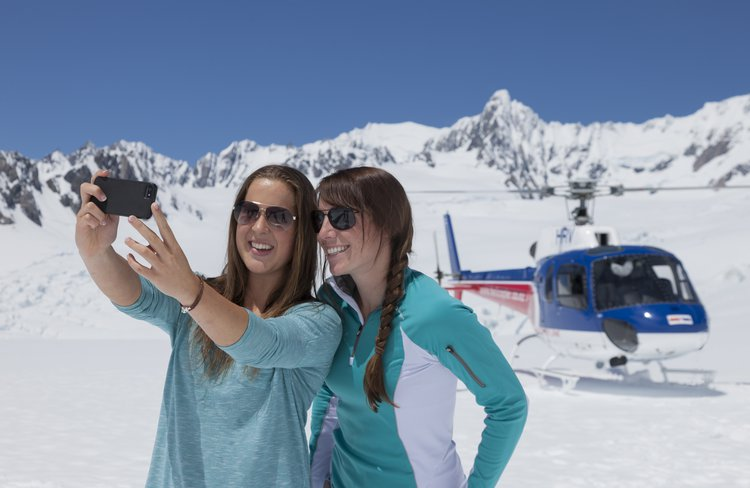 Enjoy a snow landing year round for the perfect holiday photo