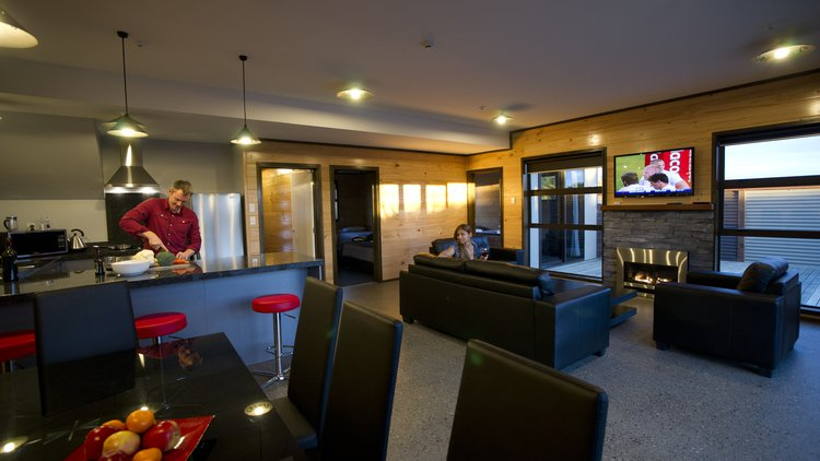 Two and Three Bedroom Seaview Apartments
