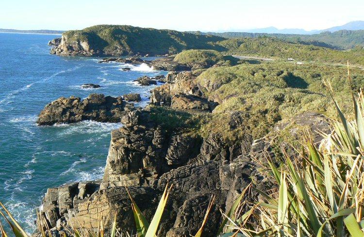 Stunning views of the Tasman Sea and native bush